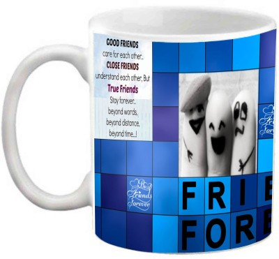 EFW FRIENDSHIP - (HINDI TEXT) FRIENDS FOREVER QUOTES Ceramic Mug