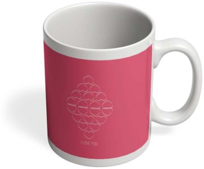 PosterGuy Many Love Hearts With I Love You Ceramic Mug