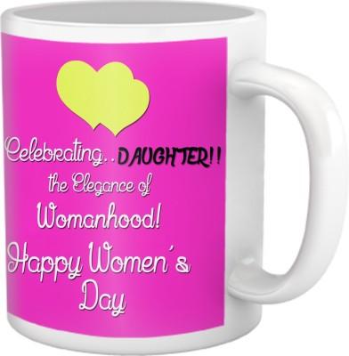 Tiedribbons Celebrating Daughter Women,S Day Coffee Ceramic Mug