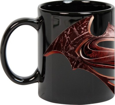 Goonlineshop Batman Vs Superman Logo Ceramic Mug