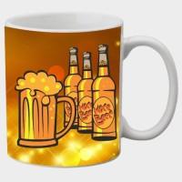 Printland Printland Beer White Coffee 350 - ml Ceramic Mug(350 ml) best price on Flipkart @ Rs. 249