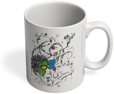 PosterGuy Brew Beautiful. Live Unplugged! Ceramic Mug