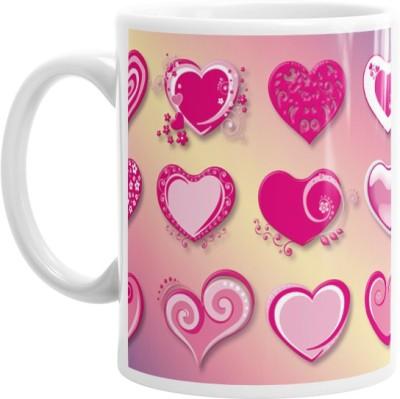 Hainaworld Nice Hearts Coffee  Ceramic Mug