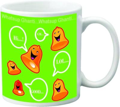 Mugwala Whatsup Ghanti Ceramic Mug