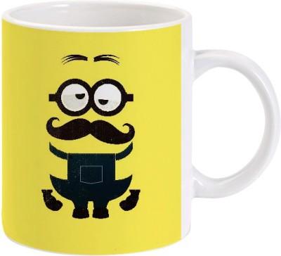 Lolprint Moustache One in a Minion Ceramic Mug