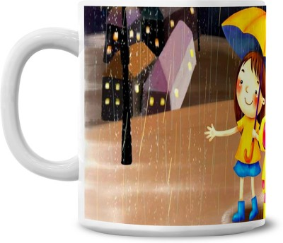 Lovely Collection Rainy Day Ceramic Mug