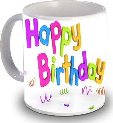 Print Helllo Happy Birthday R121 Ceramic Mug