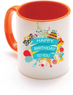 Only Owl OWL 1039 Happy Birthday s Ceramic Mug