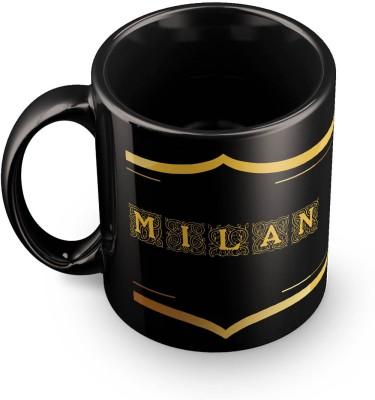 posterchacha Milan Name Tea And Coffee  For Gift And Self Use Ceramic Mug