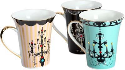 Christian Zanotti Chandelier Decal Ceramic Mug