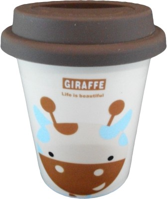 GeekGoodies Giraffe Ceramic Cream Porcelain Mug