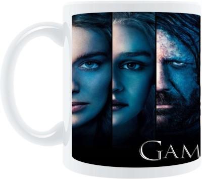 AB Posters Game Of Thrones Faces Ceramic Mug