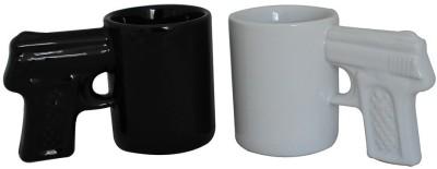 Its Our Studio Gun Shot Glasses Ceramic Mug