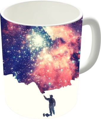 The Fappy Store Painting The Universe Ceramic Mug