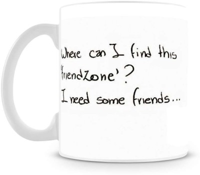 Saledart Mg609-I Need Some Friend Ceramic Mug
