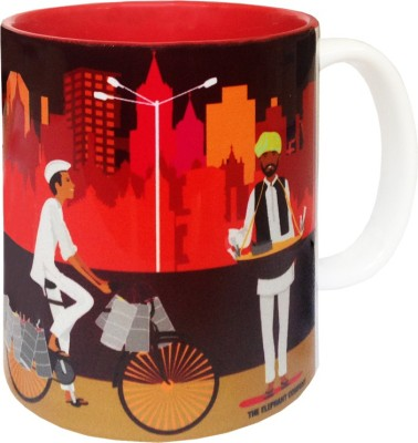 The Elephant Company Nukkad Bazaar Ceramic Mug