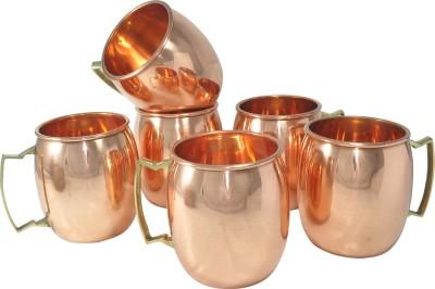 AsiaCraft MOSCOWMUG009-6 Copper Mug