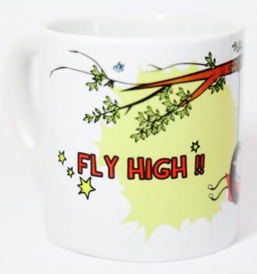 Blitzen 6oz-FHGW Ceramic Mug