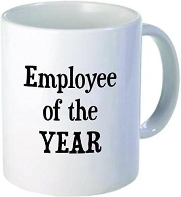 Rikki Knight LLC Knight Employee of the year 11 oz Ceramic Coffee  Cup Ceramic Mug