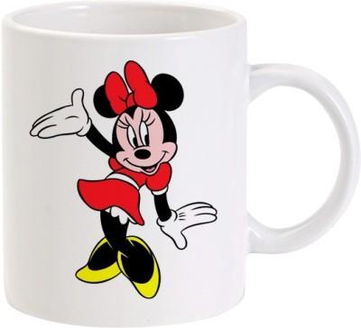 Lolprint Sweet Minnie Mouse Ceramic Mug