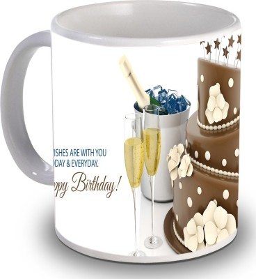Print Helllo Happy Birthday R132 Ceramic Mug