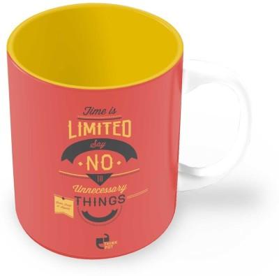 Thinkpot Time is Limited - Jason Fried, 37 Signals Ceramic Mug