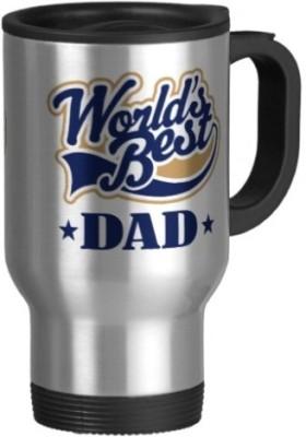Giftsmate Starry Worlds Best Dad Travel Ceramic Mug