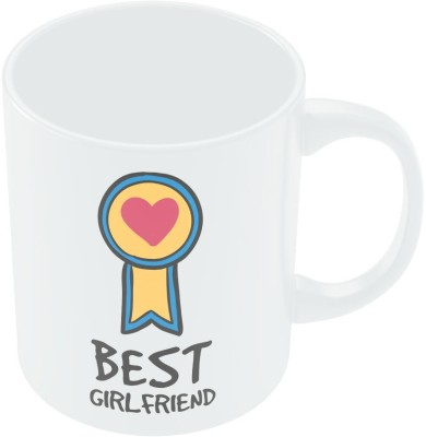 PosterGuy Best Girlfriend Valentine,s Day Coffee Ceramic Mug