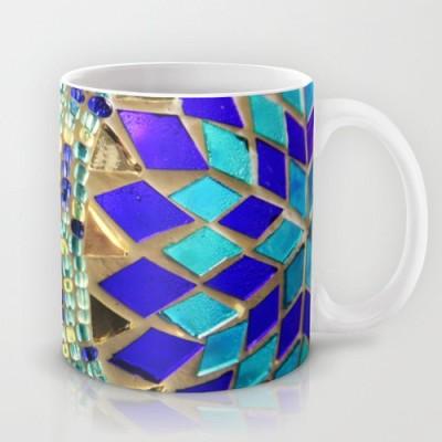 Astrode Mosaic And Beads Ceramic Mug