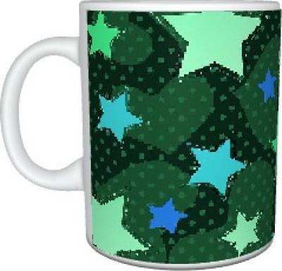 Creatives Heart n Star Ceramic Mug