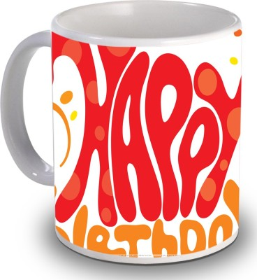 Print Helllo Happy Birthday R207 Ceramic Mug