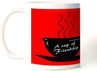 Rockmantra A Cup Of Friendship Happy Friendship Day Ceramic Mug
