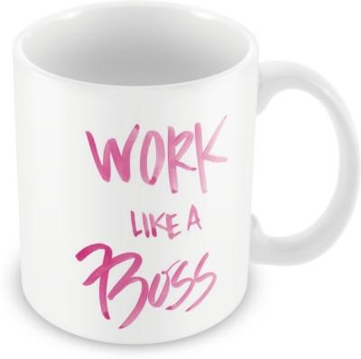 AKUP worklike a boss Ceramic Mug