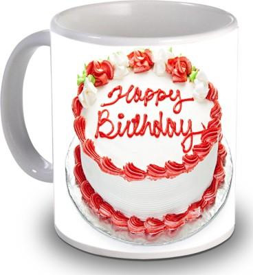Print Helllo Happy Birthday R147 Ceramic Mug