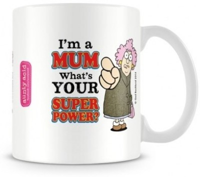 Aunty Acid Super Mom Ceramic Mug