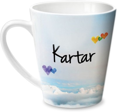 Hot Muggs Simply Love You Kartar Conical  Ceramic Mug