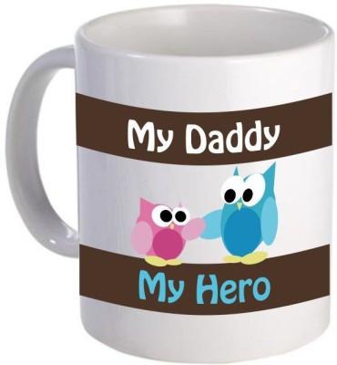 Giftsmate My Dad My Hero Ceramic Mug