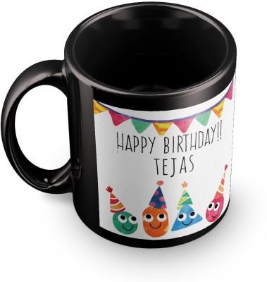 posterchacha Tejas Personalised Custom Name Happy Birthday Gift Tea And Coffee  For Gift Use Ceramic Mug