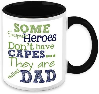 HomeSoGood Some Superheroes Are Called Dad Ceramic Mug