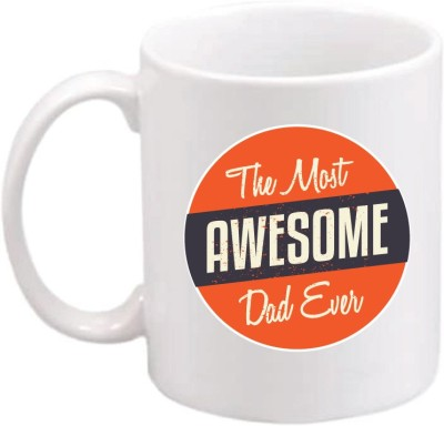 ONLY OWL Gift The Most Awesome Dad Ever I Love Dad Ceramic Coffee  OWL565 Ceramic Mug