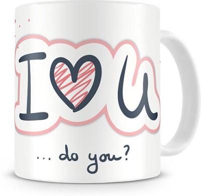 Print Haat I Love You Ceramic Mug