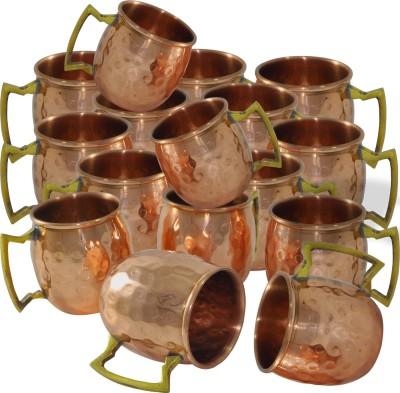 Dakshcraft Hammered Copper Mug