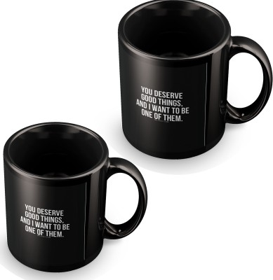 posterchacha I Want To Be One Of Them Black Tea And Coffee for Gift Use For Girlfriend And Loved One Ceramic Mug
