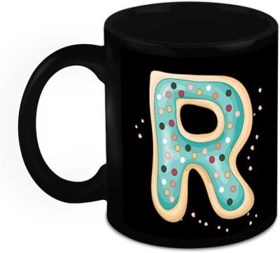 HomeSoGood One Of A Kind Alphabet R Ceramic Mug