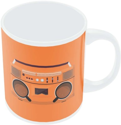 PosterGuy Coffee Boom Box Minimalist Illustration Ceramic Mug