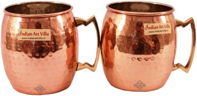 Indian Art Villa IAV-C-2-113A Copper Mug