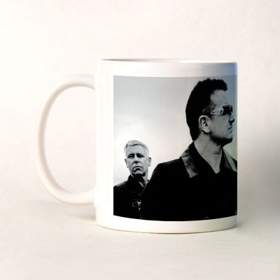 Shoperite U2 Band Ceramic Mug