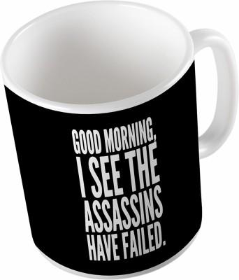 Uptown 18 Gud Morning Ceramic Mug