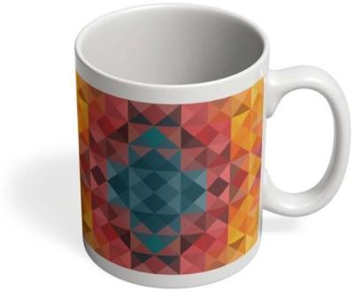 PosterGuy Mosaic Mosaic,Art,Colour,Color,Colourful,Design,Pattern,Bright,Dazzle Ceramic Mug