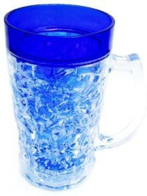 Highlight blue Plastic Mug